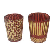 China Classical Glass Candle Holder