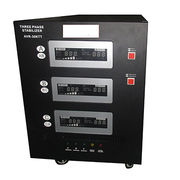 China 30KW single phase servo motor AVR stabilizer