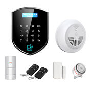 2017 Wireless GSM+WIFI+RFID Dual Network Alarm