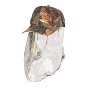 China Stealth Balaclava with Veil, Oak Camo Cap, Cap with Veil 2018, Lightweight Cap with Veil