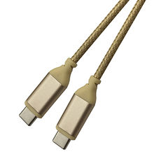 USB Type-C USB-C to USB Type-C USB-C Cable, Reversible Design, for Apple MacBook from Dongguan HYX Industrial Co. Ltd