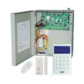 TCP/IP/GSM/GPRS/Network Alarm with iOS Android APP, Web Remote Control