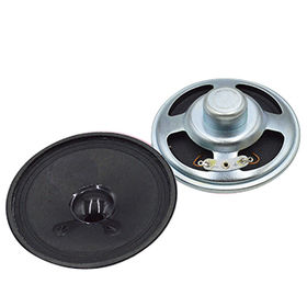 77mm ,0.5W Neodymium Speaker in 23.5 mm height and 8 Ohm impedance from Wealthland (Audio) Limited