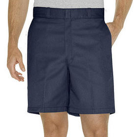 China Relaxed Fit Traditional Flat Front Short