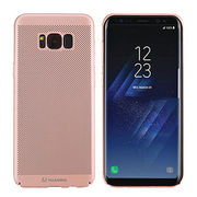 China Huanmin heat dissipation honeycomb PC phone cover case for Samsung Galaxy S8,S8