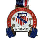 China World international championship medal
