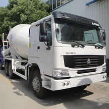 China Concrete Mixer Truck, 8m<sup>3</sup> Cement Mixer Truck for Howo
