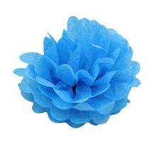 10-inch (25cm) Hot Selling Tissue Paper Pom Poms Flower Balls for Decorations Artificial