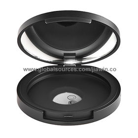 Makeup Plastic Compacts, Round-shaped