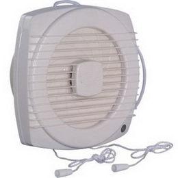 China Window Mounted ABS Bathroom Exhaust Fan