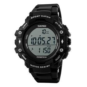 China Pedometer LED Digital Watch