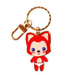 China Stamped metal keychians, wholesales anime keychains, promotional keychains