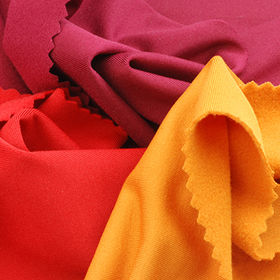 Taiwan Jersey Fleece Fabric Made of Poly and Spandex