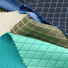 Poly Filled 3-Layer Jacquard Fabric Made of 100% Poly