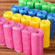 Trash Bags, 6 Colors Garbage Bag Storage, Plastic Waste Basket Bin Trash Holder