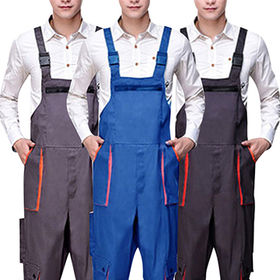 China Men's Work Adjustable Coveralls