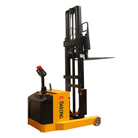 1300kg Electric Reach Truck with EPS, AC Motor from Wuxi Dalong Electric Machinery Co. Ltd