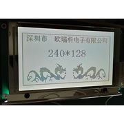 China STN gray Postive 240128 LCD Module