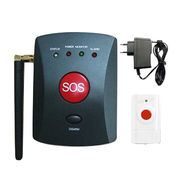 China GSM Alarm System with Static Current of 20mA, Supports GSM/CDMA Mobile Phone, Emergency Call, Alarm