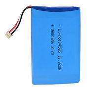 Lithium-polymer Battery, 3600mAh 3.7V Lithium-polymer 104565