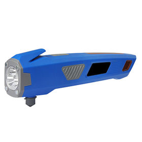 Wind up flashlight with hammer & dynamo torch from Shenzhen Xinlingnan Electronic Technology Co. Ltd