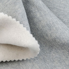 Suede Fleece Fabric in Cotton and Poly Melange, For Winter Coats and Jackets from Lee Yaw Textile Co Ltd