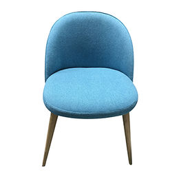 China Soft texture fabric dining room chair