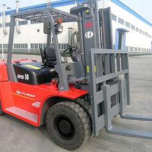 China Diesel Forklift, 5-ton Capacity with Isuzu Engine