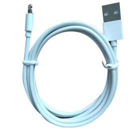 USB to lightning cable 5V 2A charge and data sync MFi license for iphone6/7/7 Plus from Dongguan Heyi Electronics Co. Ltd