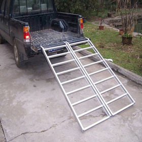 China Aluminum loading ramp