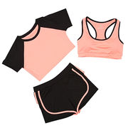 China Lady three piece suit yoga wear