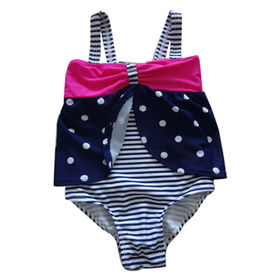 Children's Swimwear, Made of 82% Nylon + 18% Spandex Materials, Various Colors Available