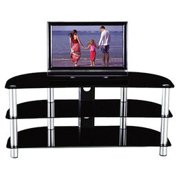 Modern Glass Living Room TV Stand from Langfang Peiyao Trading Co.,Ltd