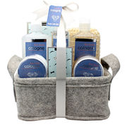China GMP Certified Manufacturer Bath Gift Set with Bath Bubble/Body Spray/Body Lotion for Men