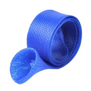 Expandable Braided Fishing Rod Sleeve with Pole Fishing Tools Spinning Casting Rod Cover