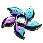 China Plastic Fidget Spinner Toy