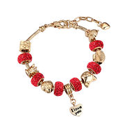 Wholesale 2016 trendy best selling bead charm bracelet, 2016 trendy best selling bead charm bracelet Wholesalers