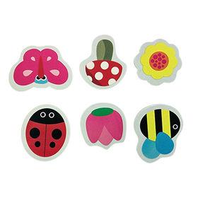 China Secret Garden Bath Stickers