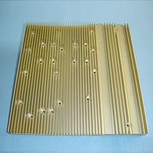 China CNC Machined Aluminum Extrusion Heat Sink