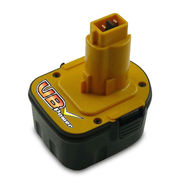 China 12V NiMH Replacement Battery Pack for Dewalt  Power Tools, with 3,000mAh Capacity