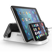 Huntkey 4-port USB Charging Station Dock with Built-in Charge Cables from Huntkey Enterprise Group