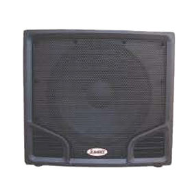 "China 18"" MDF Black Paint Subwoofer Speakers"