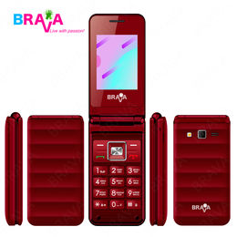 Feature 2G flip phone Brava Technology Co., Ltd