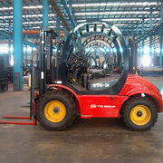 Forklift, 3-ton YTO Rough Terrain Forklift, CPCD30