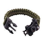 China Survival paracord bracelet