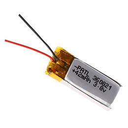 China Rechargeable 3.7V 42mAh 360821 Lithium-ion Polymer Battery for Xiao Mi Wireless Bluetooth Earphone