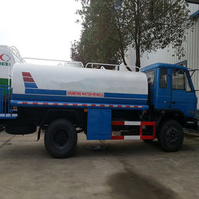China Water sprinkler truck with 4x2 water tank truck (stainless steel) - 16000liters