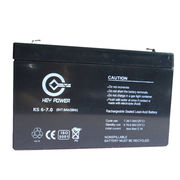 China 6V Sealed Lead-acid Rechargeable Battery