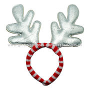 China Santa Head Antler, Suitable for Christmas Party