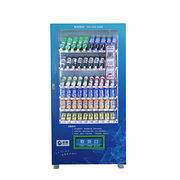 China hot sale automatic snack cold drinks vendor